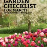 march gardening checklist